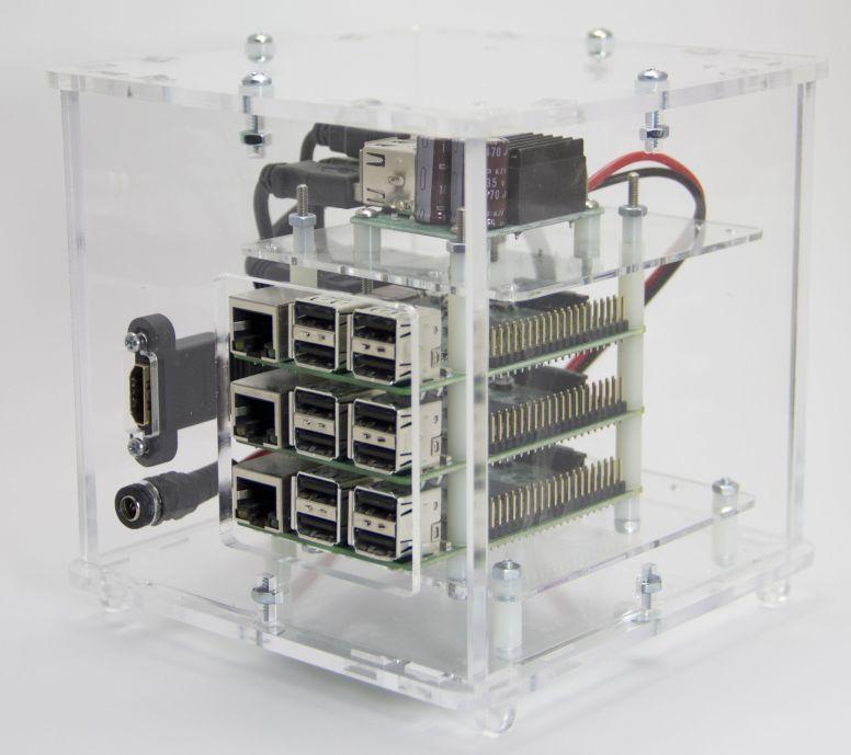 PicoCluster 3-node
